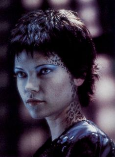"Nicole de Boer as Ezri Dax on ""Star Trek: Deep Space Nine."""