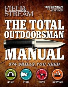 Describes 374 skills essential to hunting, fishing, camping, and surviving in the outdoors, offering advice on such tasks as pitching camp, rainproofing tents, siponing gas, splitting logs, throwing a knife, fishing a bream bed, tying a rapala knot, trolling, paddling a canoe into a gale, facing a duck blind in the right direction, tanning a deer hide, tracking an elk, building a fire in the rain, making a blowgun, skinning and cooking a snake, and more.