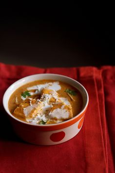 paneer makhanwala recipewith step by step photos - paneer or cottage cubes in a buttery, creamy, tangy and mildly sweet sauce. this paneer makhanwala recipe has restaurant like flavors and taste.    the recipe is a variation