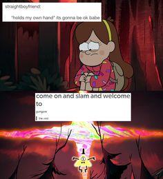 Gravity Falls text posts