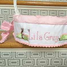 Finished this sweet liner for baby Lila Grey