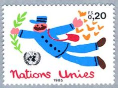 stamp nations unies 1985