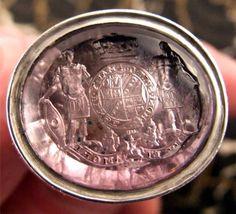 Antique Amethyst Intaglio Seal