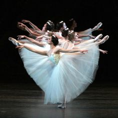 Giselle. There's just somethin about white tutus.