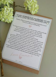 Printable Wedding Welcome Letter Instant By Alltherageprintables