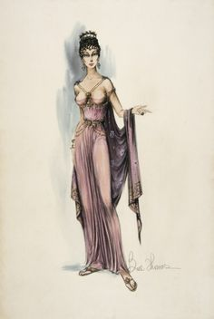 costumes designed forspartacus 1960 - Google Search