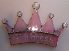 Stained Glass Princess Crown