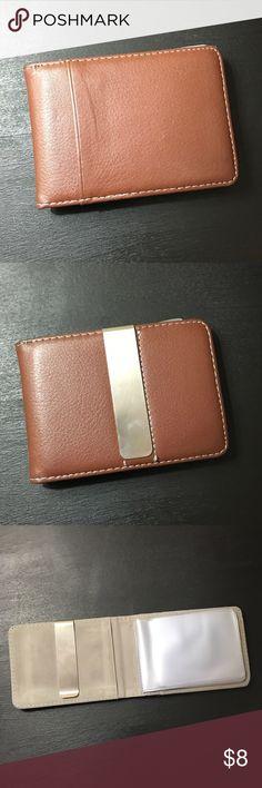 Brown men's wallet Bifold men's wallet with money clip Bags Wallets