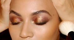 Beyoncé in Charlotte Tilbury Dolce Vita Palette Eyeshadow Look by celebrity makeup artist Sir John