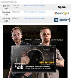 Brand Spankin New Show! See Image for Times. Cbs Sports, New Shows, Times, Image
