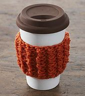Ravelry: Grab 'n' Go Coffee Cup Cozy pattern by Vickie Howell