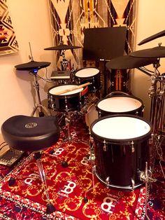 TweetDeck Diy Drums, Drum Kits, Drummers, Music Instruments, Touch, Studio, Musical Instruments, Studios