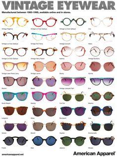 efe7c7c52dd Types of sunglasses  vintage Cute Sunglasses