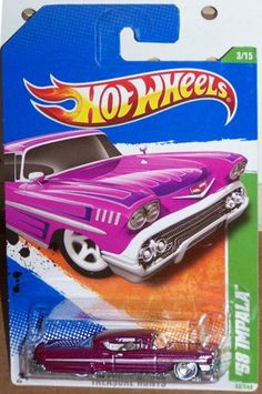 2011 HOT WHEELS 53/244, SUPER TREASURE HUNT 3/15,`58 IMPALA (TREA$URE HUNT$) by MATTEL. $35.60. Special Wheels and Tires on the Premium Cars: TREA$URE HUNT$. Hard to Find Collectible Car.