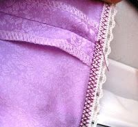 how to attach elastic - and a Vintage-Inspired Half Slip (Gertie's blog)