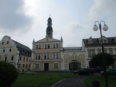 Budova radnice z roku 1646 - Chrastava - Liberecko - Česko