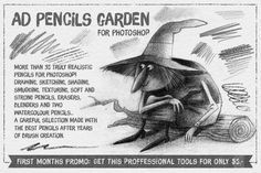 Check out The Pencils Garden (Truely realistic Pencils for Photoshop CS6+) by Alex Dukal on Creative Market