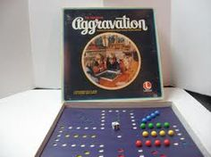 Aggravation Board Game - 70's