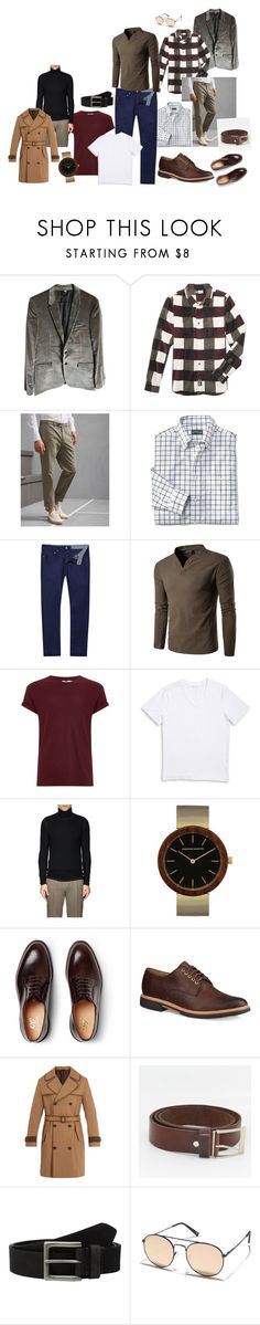 khj by polineshka on Polyvore featuring LRG, ATM by Anthony Thomas Melillo, 1670 HBC, Topman, Brunello Cucinelli, Ted Baker, Fendi, Burberry, UGG and George Cleverley