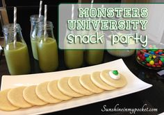 Monsters University Summer Snack Party