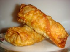 Eggrolls (recipe is for beef but can easliy do chicken or other substitutions)