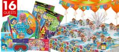 Bubble Guppies Party Supplies Ultimate Party Kit - Girls Birthday Party Themes - Girls Birthday - Birthday Party Supplies - Categories - Party City