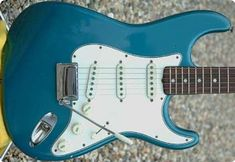 Fender Stratocaster 1965Custom Colour Lake Placid BlueAll Original with Case & TagsStunning ConditionNeck: NOV 65 BSerial No. 1125XXPots: 304 65 32Needs to be seen! £POAStock No.