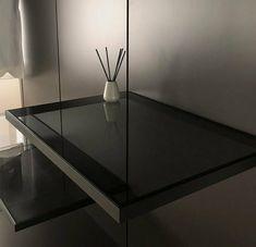 Vidrio,madera,aluminio. Table, Furniture, Home Decor, Glass, Cabinets, Doors, Wood, Decoration Home, Room Decor