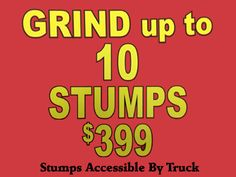 Affordable Stump Grinding - Affordable Tree Removal and Stump Grinding