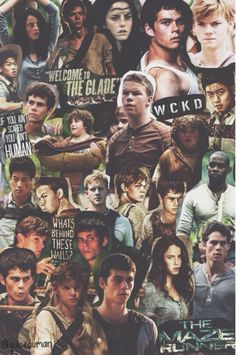 The Maze Runner // Tumblr Collage.