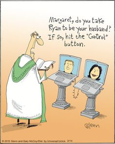 Wedding day humor people 37 New Ideas Computer Humor, Funny Cartoons, Funny Jokes, Hilarious, Satirical Cartoons, Foto Pal Face, Social Media Humor, Religious Humor, Technology Humor