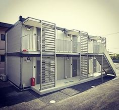 Who Else Wants Simple Step-By-Step Plans To Design And Build A Container Home From Scratch? Container Hotel, Container Van, Cargo Container Homes, Building A Container Home, Container House Plans, Container House Design, Container Architecture, Container Buildings, Container Conversions