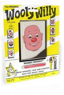 Wooly Willy Original Magic Magnetic Hair : 1955 Timeless Toy