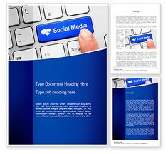 Social Media Keyboard Word Template http://www.word.poweredtemplate.com/word-templates/telecommunication/11100/0/index.html