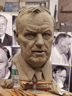 "Clarence Darrow #sculpture #Frudakis  ""Justice has nothing to do with what goes on in a courtroom; Justice is what comes out of a courtroom."""
