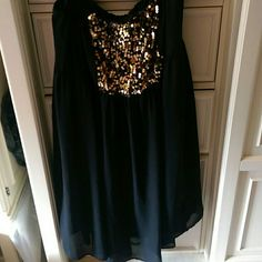 Black Sequence Dress