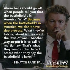 Rand Paul on what the phrase the battle is in America really means