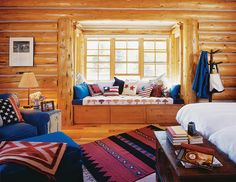 The Suite Life: Log Cabin Home Master Bedrooms