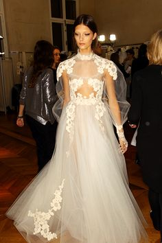 Valentino Spring 2012. only for the highly fashionable bride.