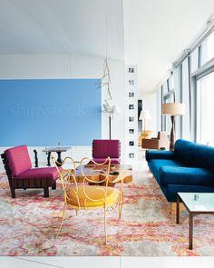"""Allan Schwartzman apartment """"T Magazine"""" New York Times"""