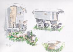 Glamping, Gypsy Wagon, English People, Go Glamping