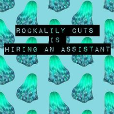 We are on the hunt for our next assistant.  Please email us on reeree@rockalily.com and ensure you include the following: 1. A couple of sentences that prove you know what Rockalily Cuts is about. 2. The hours/days you are available to work. 3. Why you think you'd be a great hire. 4. A couple of sentences that proves you understand what assisting in a salon means.  #londonhairdresser #salonassistant #hairdresserlife #hairlife #hairjobs #salonjobs #londonhair #salonjunior #jobhunt…