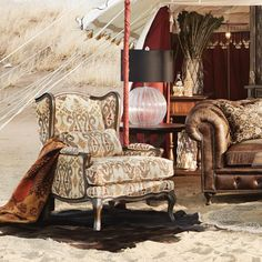 British Colonial Style Chairu0027s, Curated By The Interior Outlet Castle Hill.  Upholstered Chairs,