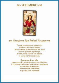 Oração a São Rafael Arcanjo