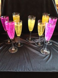 Champagne glasses Champagne Glasses, Flute, Candles, Tableware, Dinnerware, Sparkling Wine Glasses, Tablewares, Candy, Flutes