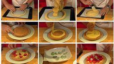 Kransekaketerte med bær og krydderkrem, av Sverre Sætre (in Norwegian) Frisk, Tiered Cakes, Baking, Tips, Decoration, Decor, Advice, Bakken, Dekoration