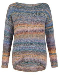 Anka Textured Space Dye Sweater