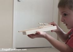 How To Build A Wooden Rubber Band Shooter