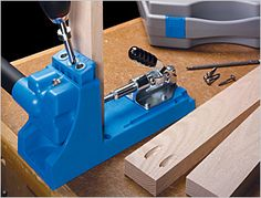 Kreg Jig - The DIY Kreg Jig - Fast and easy way to join wood and build great wood projects.