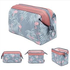 04a9e2bdeb2 Makeup Bag Travel Cosmetic Bags Brush Pouch Toiletry Kit Fashion Women  Jewelry Organizer with YKK Zipper Electronics Accessories Carry Case Pencil  Holder ...